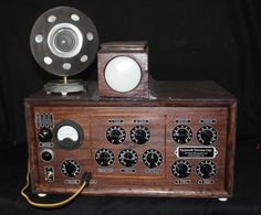 Fully Functional Replica of Philo Farnsworth's First Working Electronic TV System built in 1929 by TheOldTechnologyShop on Etsy https://www.etsy.com/listing/384676930/fully-functional-replica-of-philo