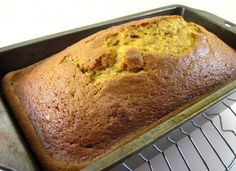 Pumpkin Bread - easy enough to be made by 6-year-olds!
