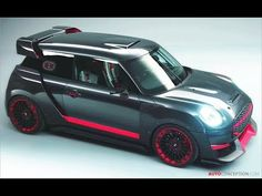 MINI has revealed the John Cooper Works GP Concept ahead of its public debut at next week's Frankfurt motor show. Inspired by the carmaker's racing triumphs in the Monte Carlo Rally exactly 50 years ago, the design study picks up the baton from the […] Mini Paceman, Suzuki Swift Sport, Monte Carlo Rally, John Cooper Works, Car Design Sketch, City Car, Mini Cooper S, Mini S, Small Cars