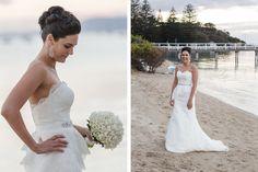 Sorrento Wedding Photographer and Filmjosarah and ben Sorrento Weddings, Wedding Highlights, A Perfect Day, Real Weddings, One Shoulder Wedding Dress, Film, Couples, Wedding Dresses, Fashion