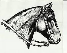 Resultado de imagem para desenho cavalo crioulo