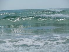 Atlantic Ocean at Wrightsville Beach.  ©Derek Reavis, May 2012