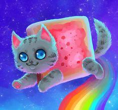 Squishy Nyan Cat by =x-SquishyStar-x on deviantART Nanimalz! Pinterest Search, Kawaii cute ...