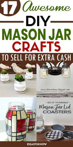 Hand Crafts, Metal Crafts, Recycled Crafts, Mason Jar Gifts, Mason Jar Diy, Mason Jar Projects, Diy Projects, Homemade Gifts, Diy Gifts
