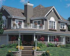 NICE EXTERIOR HOUSE, RAILING, COLOUR AND EXPECIALLY FLOWER GARDENS......