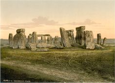 Stonehenge, Salisbury, England, ca. 1895 - The prehistoric monument Stonehenge stands as strong today as it did 3500 years ago on Salisbury Plain In England. Print Pictures, Old Pictures, Old Photos, Salisbury England, Salisbury Wiltshire, First Day Of Winter, Summer Solstice, Vintage Photographs, Literatura