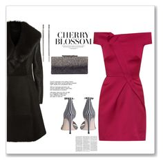 """Cherry"" by bv-b ❤ liked on Polyvore featuring Roland Mouret, Zimmermann, Jimmy Choo, Elie Tahari and Lana"