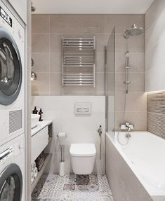 ДИЗАЙН СТУДИЯ А Бs photos Small Bathroom Layout, Laundry Room Layouts, Laundry Room Design, Laundry Bathroom Combo, Tiny House Bathroom, Bad Inspiration, Bathroom Inspiration, Bad Styling, Modern Laundry Rooms