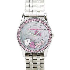 Hello kitty Sanrio Mascot Wrist Watch Silver | eBay