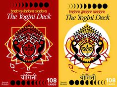 Books: The Yogini Deck: Tantra, Yantra, Mantra (108 cards)
