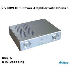2x50W HIFI Power Amplifier Audio Stereo 2 SK3875 ESS9023 USB and Smartphone OTG Decoding Whole Aluminum Casing  https://www.aliexpress.com/store/product/2x50W-HIFI-Power-Amplifier-Audio-Stereo-2-SK3875-ESS9023-USB-and-Smartphone-OTG-Decoding-Whole-Aluminum/725205_32795883295.html?spm=2114.12010612.0.0.4L0num