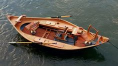 fishing boat - This custom design features a mahogany hull with oak-and-mahogany seats. Each boat has a Kevlar-and-carbon-fiber floor to protect against abrasion. Boat Building Plans, Boat Plans, Speed Boats, Power Boats, Fishing Boats, Fly Fishing, Fishing Guide, Montana National Parks, Wood Boats