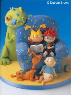 Amazing Cakes Awesome Rugrats Character Cakelover