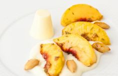... to make this Grilled Peaches Recipe & Cardamom Panna Cotta Recipe