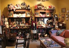 A Good Yarn. 200 Browertown Road in Woodland Park, NJ, off I-80.  Yarn and huge collection of antique buttons.