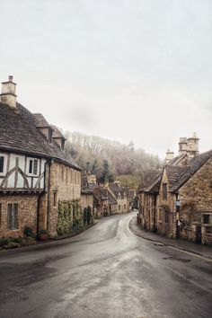 Castle Combe. Wiltshire, England. By @monalogue on Instagram.