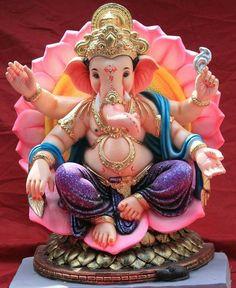 Jai Ganesh, Ganesh Lord, Ganesh Idol, Shree Ganesh, Ganesha Art, Ganesha Pictures, Ganesh Images, Krishna Images, Saraswati Goddess