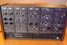 Roland system 100m analogue synth analog vintage modular