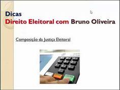 Dicas de Eleitoral - Composição da JustiçaEleitoral