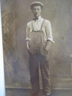 early 1900s workwear