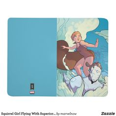 Squirrel Girl Flying With Superior Iron Man