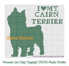 Crochet Living: I Love My Cairn Terrier Crochet Chart or Graph! Crochet Chart, Filet Crochet, Cross Stitch Charts, Cross Stitch Patterns, Swedish Weaving, Charts And Graphs, Dog Pattern, Knitting Charts, Crocheted Blankets