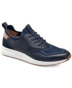 Johnston & Murphy Men's Keating Lace-Up Shoes - Blue 11 Lace Up Shoes, Blue Shoes, Shoes Heels Boots, Shoes Men, Johnston Murphy, Tenis Casual, Dresses With Leggings, Modern Man, Sock Shoes