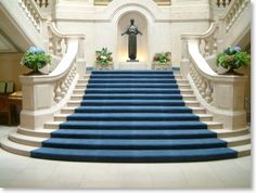 Have a princess moment on a grand staircase