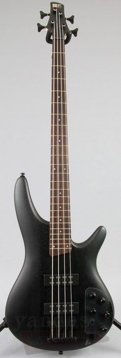 New Winter NAMM 2016 Bass From Ibanez The SR300E bass guitar has something to offer bass players of all styles and backgrounds. Featuring a lightweight mahogany body, 5-Piece Maple / Rosewood neck, an