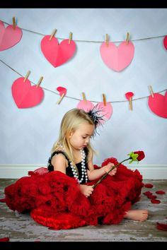 Cute valentines day photography little girl copyright Creative Images