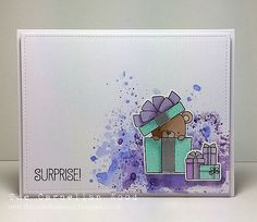 Hi everyone! Happy World Card Making Day! The challenge this week at Less is More  is to create clean and simple (CAS) cards using the...