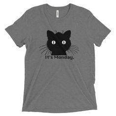 Cool Cat - It's Monday - Short sleeve t-shirt