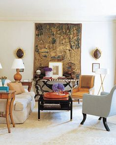 Suzanne Kasler's specialty is rooms that broadcast Euro chic crossed with Southern charm and ease, where gilt-wood antiques are energized by contemporary...