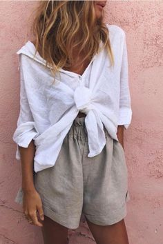 Mode Outfits, Casual Outfits, Fashion Outfits, Fashion Tips, Casual Shirt, Fashion Mode, Look Fashion, Travel Style, Spring Summer Fashion