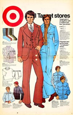 The History of Denim As Told Through Target Ads Vintage Advertisements, Vintage Ads, Target Jeans, Nehru Jackets, 3 Piece Suits, Levi Strauss, Advertising, Menswear, Mens Fashion