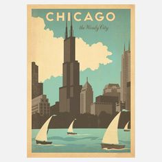 Chicago Print, 19€, now featured on Fab.