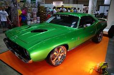 American Muscle Cars… 1970 Custom Plymouth Cuda Resto-Mod