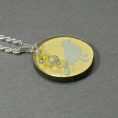 cool little bird necklace