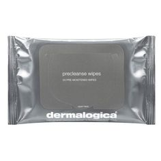 Women's dermalogica Precleanse Wipes found on Polyvore featuring beauty products, skincare, face care, makeup remover, fillers, beauty, makeup, cosmetics, grey and magazine