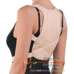 CORSETTO DORSALE RADDRIZZASPALLE - 37,00 € - Codice  PR1-1111 - Prodotto  Nuovo - CORSETTO DORSALE RADDRIZZASPALLE NATURUP - RO+TEN - DETTAGLI: Struttura in tessuto raso di cotone-Serie di stecche dorsali-Spalline con imbottitura ascellare e incrocio posteriore-Chiusura con fibbia alla vita- INDICAZIONI: Utile nella correzione del dorso curvo, negli atteggiamenti cifotici e nelle scapole alate. Utile quale coadiuvante nelle dorsalgie posturali.