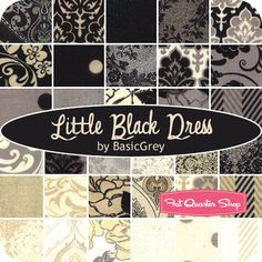 Little Black Dress Fat Quarter Bundle BasicGrey for Moda Fabrics - Fat Quarter Shop