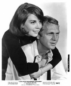 "Natalie Wood and Steve McQueen - ""Love and the Proper Stranger"" - 1963"