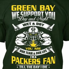 Loyal Packers fan for life