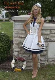 35 best shipwrecked lost at sea images on pinterest carnivals diy sailor girl costume solutioingenieria Gallery