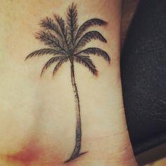 My new tattoo. Palm Tree