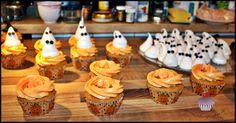Halloween Cucpakes mit Baiser-Gespenster, Schritt-für-Schritt-Anleitung auf www.sweetundstyle.blogspot.de