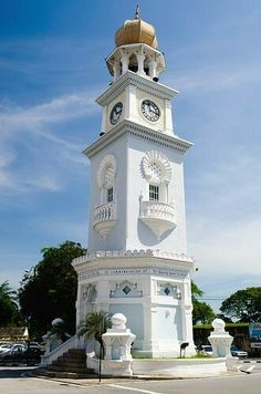 Queen Victoria Clock.Tower. Malaysia.
