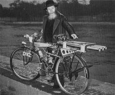 Rocket Powered Bicycles - Retronaut