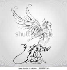 Rebirth of the soul - stock vector