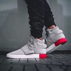 Adidas Tubular Invader Strap Love or Leave? Tag a friend who would wear these!
